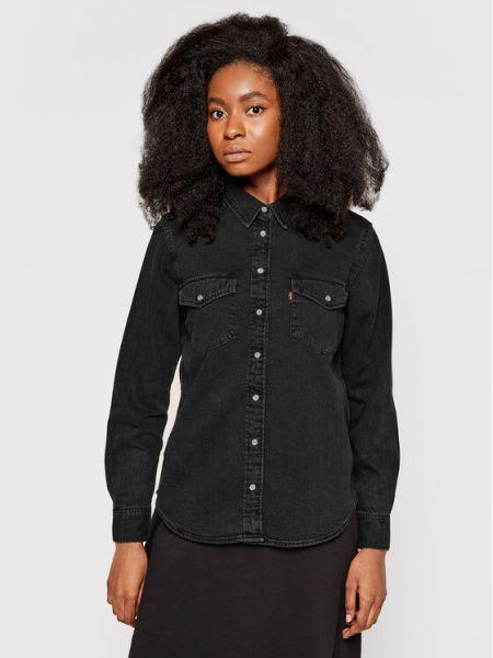 Koszula jeansowa - czarna Levi's