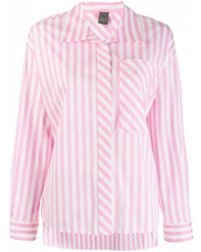 Рубашка с длинным рукавом в полоску с карманами Lorena Antoniazzi
