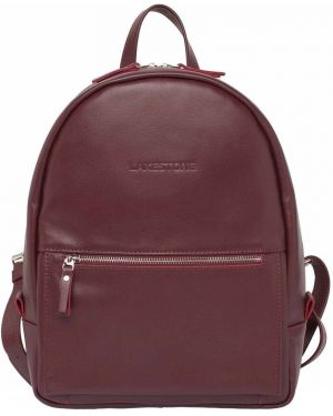 Рюкзак бархатный бордовый Lakestone