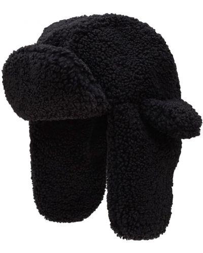 Czarna czapka z nausznikami Ruslan Baginskiy