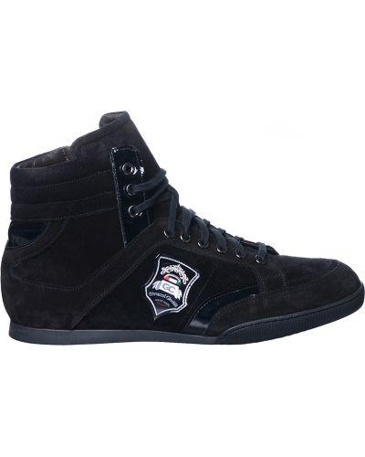 Кожаные ботинки замшевые осенние Giovanni Ciccioli