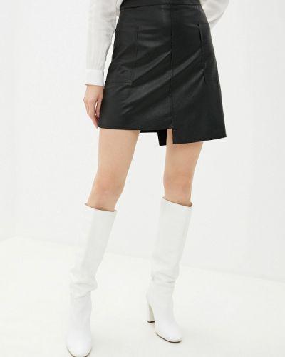 Кожаная юбка итальянский Massimiliano Bini
