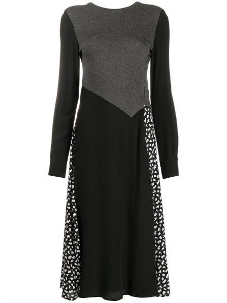 Расклешенное платье миди на молнии Mcq Alexander Mcqueen