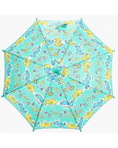 Зеленый зонт-трость Zemsa