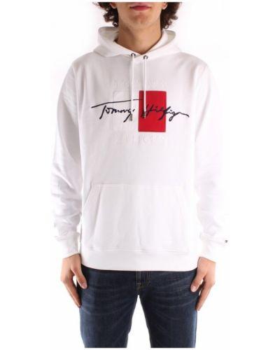 Biała bluza z kapturem Tommy Hilfiger