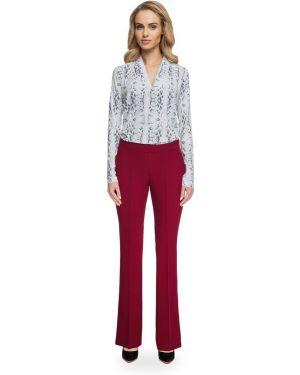 Spodnie eleganckie materiałowe oversize Stylove