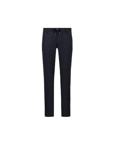 Повседневные шерстяные синие брюки Jacob Cohen