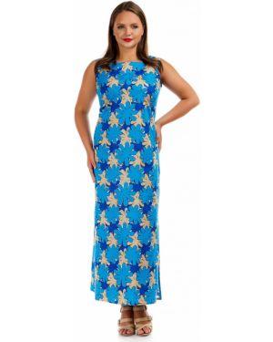 Летнее платье с цветочным принтом платье-сарафан Liza Fashion