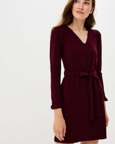 Фиолетовое платье с длинными рукавами Dorothy Perkins