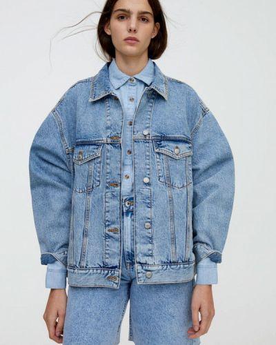 Джинсовая куртка осенняя Pull&bear