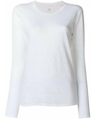 T-shirt bawełniana - biała Isabel Marant Etoile