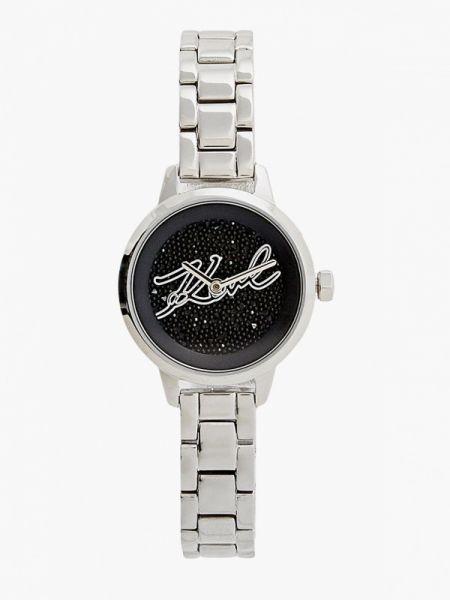 Серебряные часы Karl Lagerfeld