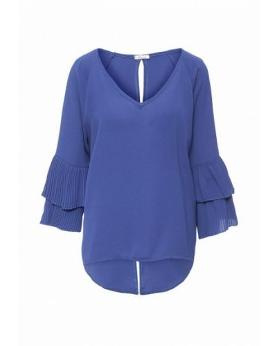 Блузка - синяя Aurora Firenze