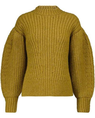 Шерстяной свитер - зеленый Ulla Johnson
