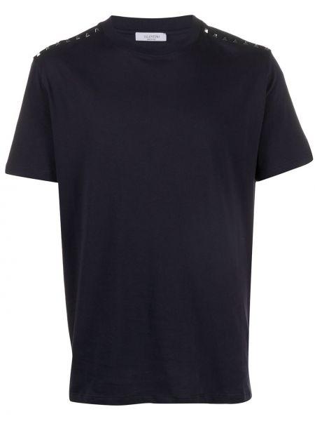 Koszula krótkie z krótkim rękawem ciemnoniebieski rama Valentino