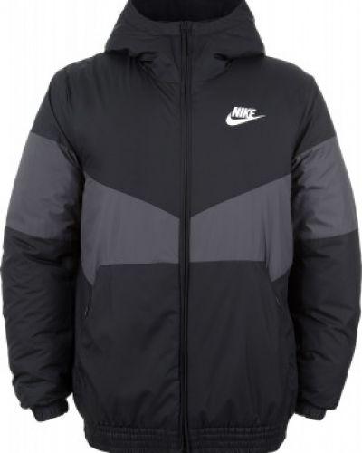 Утепленная куртка с капюшоном спортивная Nike