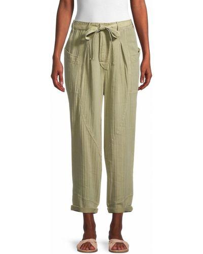 Городские льняные брюки с карманами Free People