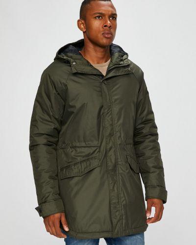Утепленная куртка с капюшоном прямая Blend