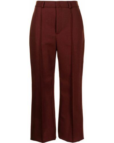 Шерстяные брюки - красные Ports 1961