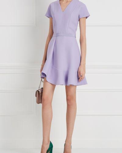 Платье с V-образным вырезом расклешенное Carven