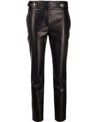 Черные укороченные брюки Ermanno Scervino