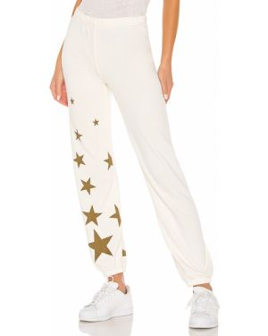 Spodnie na gumce z mankietami baza Wildfox Couture