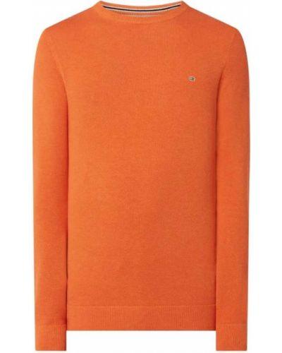 Pomarańczowy sweter bawełniany Christian Berg Men