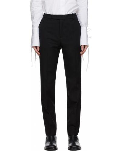 Złote spodnie - czarne Palomo Spain