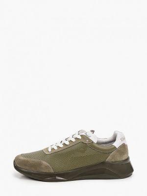 Зеленые низкие кроссовки Roberto Piraloff
