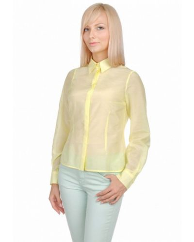 Желтая рубашка City Jungle