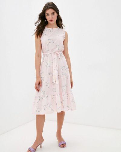 Розовое прямое платье Froggi