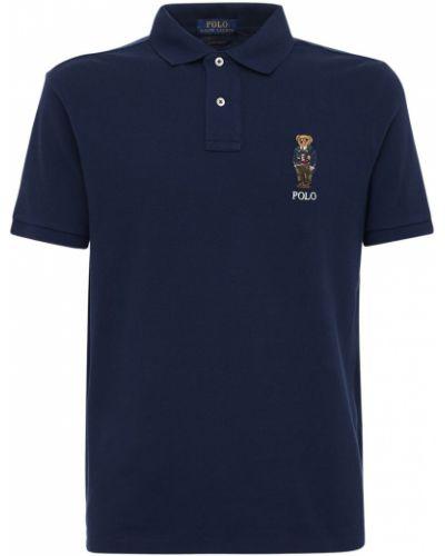 Bawełna bawełna koszulka polo z haftem Polo Ralph Lauren