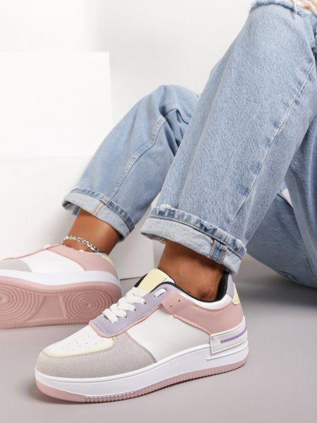 Różowe sneakersy Renee