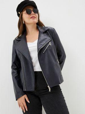 Кожаная куртка - черная Sophia