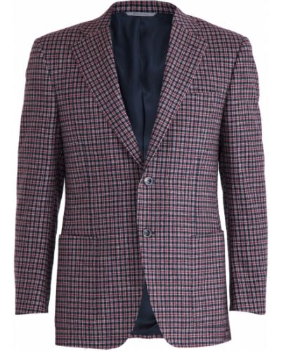 Классический пиджак однобортный шерстяной Canali