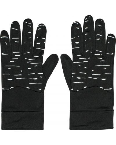 Czarne rękawiczki do biegania Mountain Warehouse