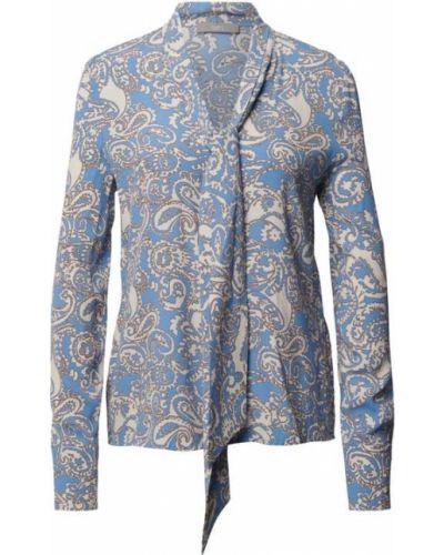 Niebieska bluzka z dekoltem w serek Jake*s Collection