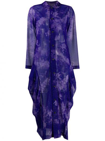 Платье миди на пуговицах платье-рубашка Comme Des Garçons Comme Des Garçons