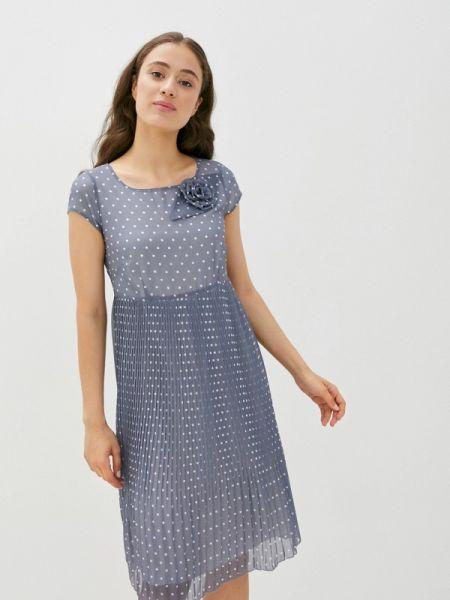 Прямое серое платье Vera Moni