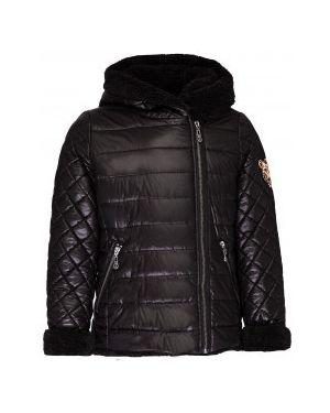 Стеганая куртка демисезонная черная Gulliver Wear