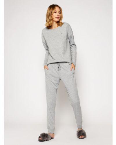 Szara piżama Lauren Ralph Lauren