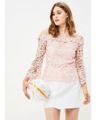 Розовая блузка кружевная By Swan