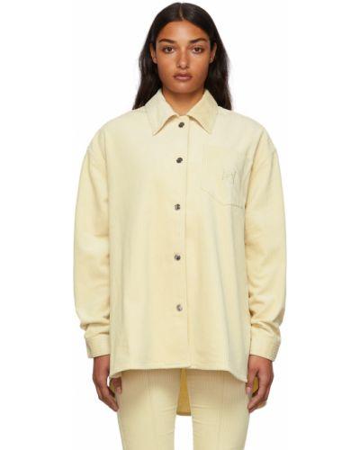 Biała koszula z długimi rękawami - biała Remain Birger Christensen
