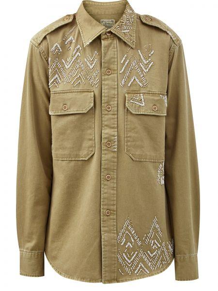 Асимметричная рубашка Polo Ralph Lauren
