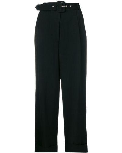 Широкие брюки - черные Isa Arfen