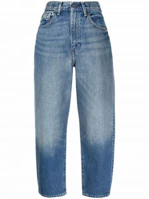 Джинсы с завышенной талией - синие Levi's®  Made & Crafted™
