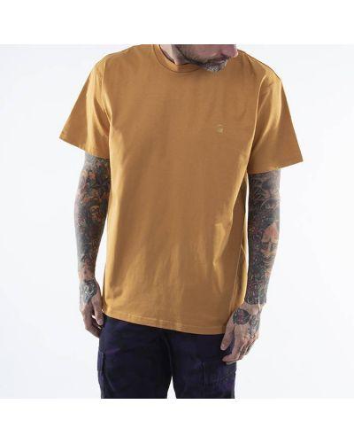 Желтая футболка Carhartt Wip