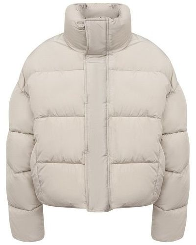 Пуховая куртка - бежевая Balenciaga