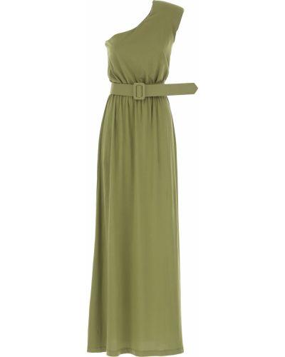Sukienka wieczorowa, zielony Federica Tosi
