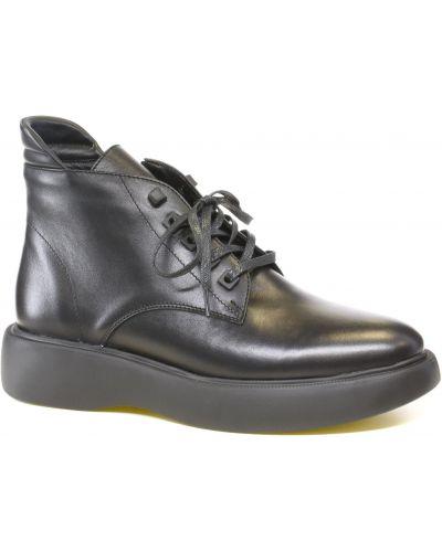 Ботинки на шнуровке - черные Alex Bell